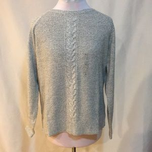 Karen Scott gray sweater